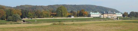 Ansicht Schloss Pillnitz